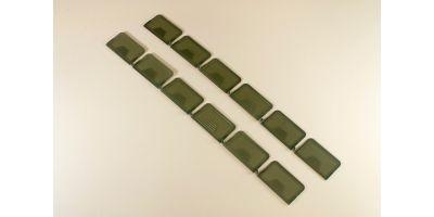 仕切り板(12pcs/パーツボックスL用)  80463-01