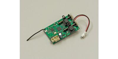 RAS-24P3 2.4GHz 3CH RX (ESC, 2servos) 82615