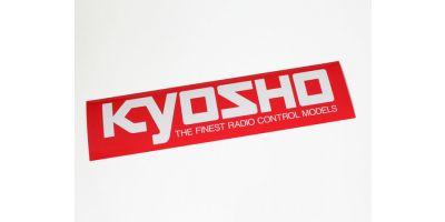 KYOSHO Logo Sticker (M/W290xH72) 87003