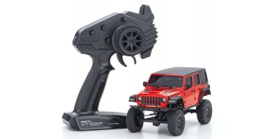 Radio Controlled Electric Powered Crawling car MINI-Z 4×4 Series Readyset JeepⓇ WRANGLER UNLIMITED Rubicon Firecracker Red 32521R