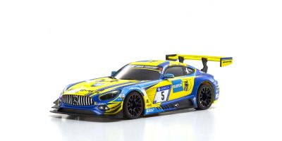 ASC MR03W-MM メルセデス AMG GT3 ブルー/イエロー MZP241BLY