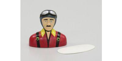 パイロット人形スポーツタイプ102S(グレー・赤)  90904
