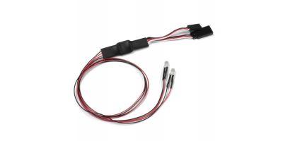 LEDライトユニット (Φ5 / 2灯 / L=400 / クリア ) 97054-2B