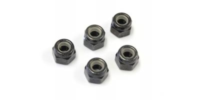 Nut(M4x5.5) Nylon (5pcs) 1-N4055N