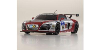 ミニッツAWD MA-020VE ボディシャシーセット Audi R8 LMS Phoenix Racing NBR 2010 #99 32161SL