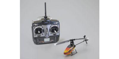 120mm電動フライバーレス固定ピッチ インドアヘリコプター FBL 70 レディセット 20011