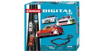 1/32 スロットカー カレラ Digital132 Digital132 DRM レトロ レース(スロットカー3台入り) 20030002
