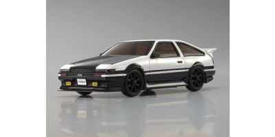 R/C EP TOURING CAR Toyota SPRINTER TREUNO AE86 Aero Version with Carbon Bonnet White/Black(without transmitter) 30574ZCW
