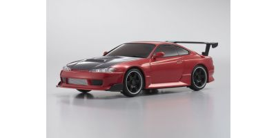 R/C EP TOURING CAR NISSAN SILVIA S15 equipped with GT Rear Wing Red Metallic 30576ZMR