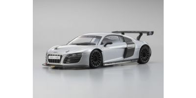 R/C EP Touring Car Audi R8 LMS Silver body/Chassis set  30533S