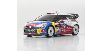 R/C EP Touring Car CITROEN DS3 WRC 2011 No.1 Sebastien Loeb  30534SL