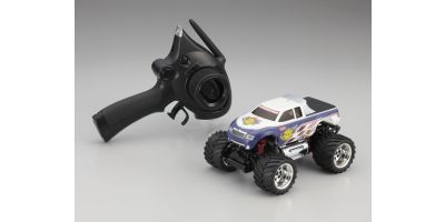 R/C Electric Monster Truck ASF2.4GHz MAD FORCE T3 COLOR 30093T3