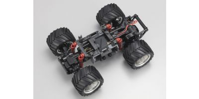 MZ Monster w/oTX Chassis Set ASF2.4GHz   30090
