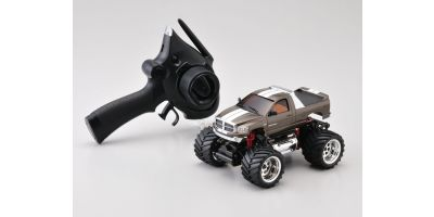 R/C Electric Monster Truck ASF2.4GHz MINI-Z MONSTER EX Dodge Ram gun metalic 30091GM