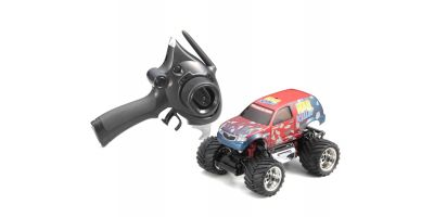R/C Electric Monster Truck ASF2.4GHz MAD KILLER Color Type 1 / Red 30092T1