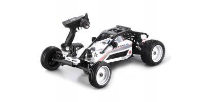 スコーピオンXXL VE カラータイプ1: ホワイト 1/7 EP 2WD レディセット 30973T1