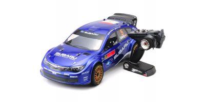 DRX Subaru Impreza WRC 08 1/9 GP 4WD Readyset RTR 31051