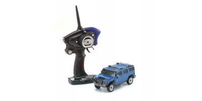 MINI-Z OVERLAND スポーツ レディセット ハマーH2 ブルー 32062BL