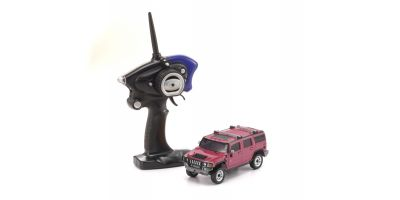 MINI-Z Overland Sports HUMMER H2 Pink Readyset RTR 32062P