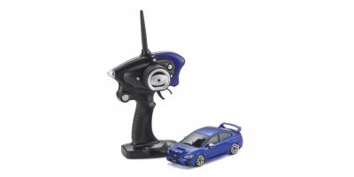 Radio Controlled Electric Powered Touring car MINI-Z AWD Sports MA-020S Series Ready Set SUBARU WRX STI WR Blue 32143BL