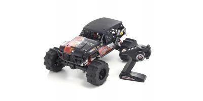 FO-XX KT-231P送信機付 1/8 GP 4WD モンスタートラック レディセット 33151