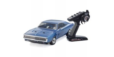EP FAZER VEi Dodge Charger 1970 Blue 1/10 EP(BL) 4WD Readyset RTR 34052T1