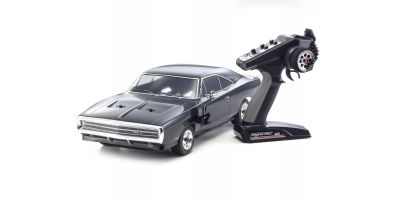EP FAZER VEi Dodge Charger 1970 Black 1/10 EP(BL) 4WD Readyset RTR 34052T2