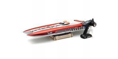 ハリケーン900VE バッテリー&チャージャーなし EP レーシングボート レディセット 40235RS
