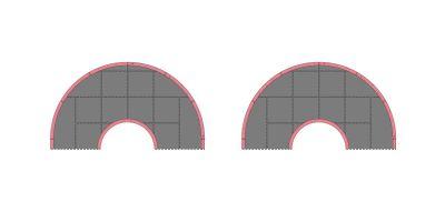 ミニッツグランプリサーキット50 オーバル拡張セット(32pcs)  87051-04