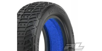 "Positron 2.2"" 2WD MC(Clay)Front Tires 612273MC"