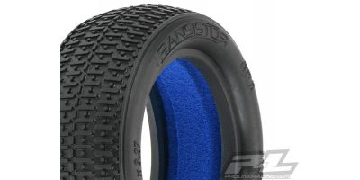 "Transistor 2.2"" 4WD MC(Clay)Front Tires 612281MC"