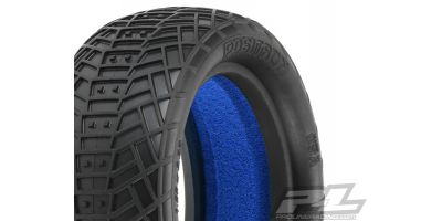 "Positron 2.2"" 4WD MC(Clay)Front Tires 612282MC"