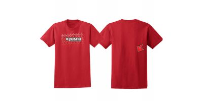 KYOSHO K Fade 2.0 T-Shirt(Red/M) 88002M