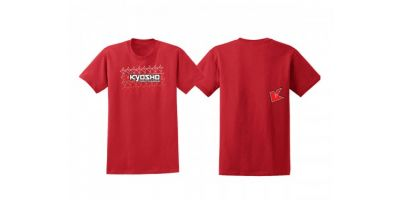 KYOSHO K Fade 2.0 T-Shirt(Red/S) 88002S