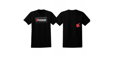 KYOSHO K Fade 2.0 T-Shirt(Black/XL) 88003XL