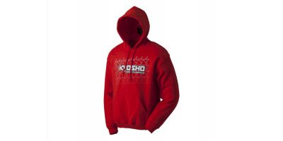 Kfade 2.0 Sweat W/Hood Red Midium 88004M