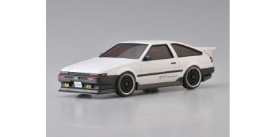 R/C EP TOURING CAR Toyota SPRINTER TREUNO AE86 Aero Version White 30532W