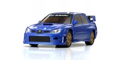 R/C EP RACING CAR SUBARU IMPREZA WRC 2006 (PLAIN COLOR VERSION) Metallic Blue 32301MB