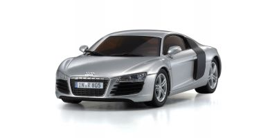 R/C EP RACING CAR Audi R8 2006 SILVER 32507S