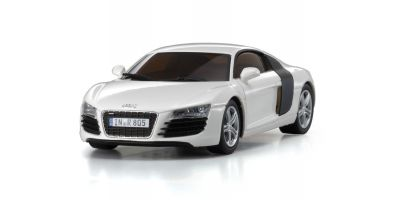 R/C EP RACING CAR Audi R8 2006 White 32507W