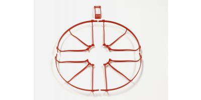 Propeller Guard & Wing Stay Set(Red) DR004R