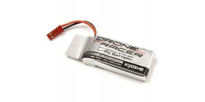 3.7V-1000mAh Li-Poバッテリー(DroneRacer専用) DR013