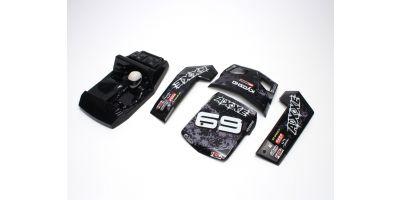 Outer panel set (Black : AXXE) EZ025BK