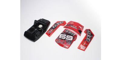 Outer panel set (Red : AXXE) EZ025R