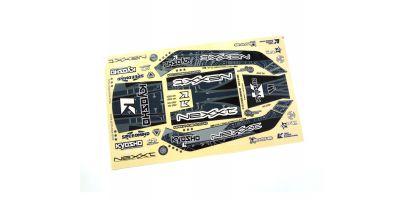 Optional Decal EZ-B NeXXt Brack/Silver EZD001BS