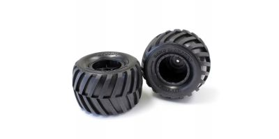 Tire & Wheel Set(Monster Tracker) EZT001