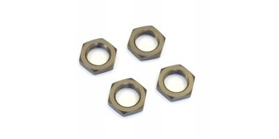 Wheel Nut (Gunmetal/4pcs) IF222GM
