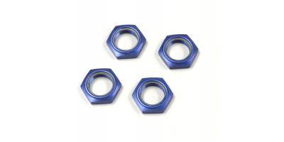 Wheel nut with nylon(Blue/4pcs) IFW336BL