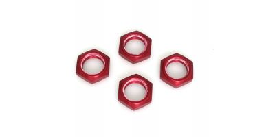 Wheel nut with nylon(Red/4pcs) IFW336R