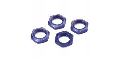 Wheel Nut (Blue/4pcs/for Serration) IFW472BL